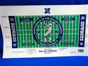 ROGER STAUBACH SIGNED POSTER 160/1000